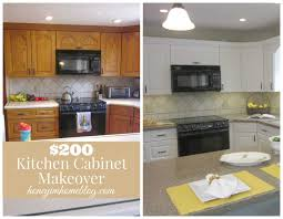 updating oak kitchen cabinets without painting before and 2018 with attractive best old ideas pictures
