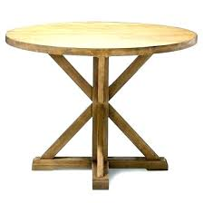 round dining table new inch wide trestle x set high room bay 36 with leaves e