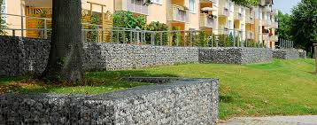 Messen die den platz, an dem sie die gabione selber bauen möchten, genau aus. Mauern Treppen