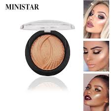 ministar new 8 colors ultra glow beam highlighter palette powder makeup highlighter contour palette s eye