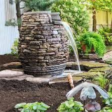Small Picture Garden Fountain Ideas Garden Design Ideas