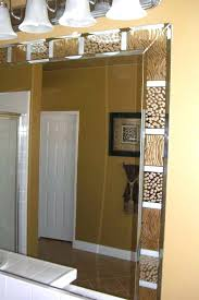 stick on frames for bathroom mirrors incredible wonderful mirror frame ideas decorating 3