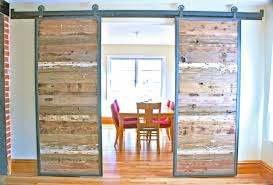Trendy Double Barn Door For Closet