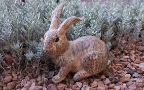 garden art. Garden Art Yard Outdoor Rabbit