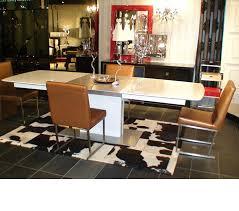 High Gloss Dining Table Dreamfurniturecom Armani 818 White High Gloss Dining Table