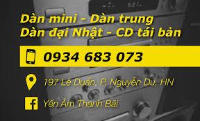 Yến Âm Thanh Bãi - Dàn Nhật Bãi Hà Nội - Home