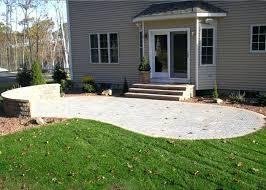 wll bhler small paver patio design ideas