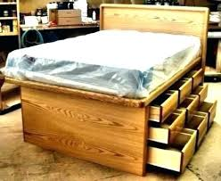 woodworking plans platform bed with drawers queen platform bed frame with drawers full bed platform queen