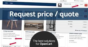 Request A Quote 72 Best OpenCart Request Price Quote OC V24xv24x
