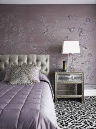 bedroom color ideas tender pink wallpaper