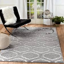 astonishing trellis area rug on wrought studio quaoar gray reviews wayfair