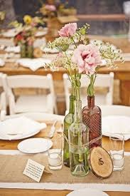 if you are about to tie the knot here are some diy wedding table centerpieces