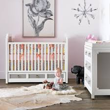 furniture exciting sorelle cribs and crib conversion kit princeton plus elegant white dresser cowhide rugs on laminate wood flooring also sputnik top rated