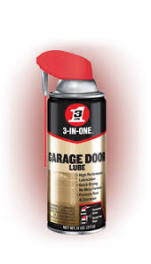 squeaky garage door3INONE Garage Door Lubricant  Door Track Lubrication