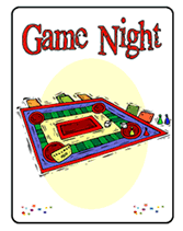 Game Night Invitation Template Free Game Night Party Printable Invitations