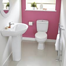 Toilet With Sink Attached Bathroom Inviting Cloakroom Suites For Your Bathroom Design Ideas