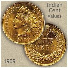 Penny Values Chart 1909 Indian Head Penny Value Discover Their Worth