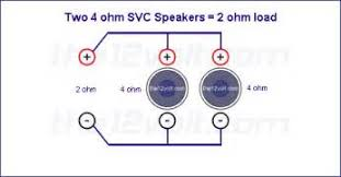 similiar ohm load diagram keywords diagram as well dual 4 ohm sub wiring to 2 ohm further wiring diagram