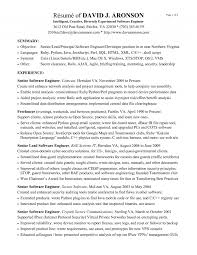 Android Developer Cover Letter Java Sample Resume Experience