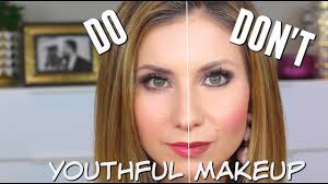 youthful makeup dos don ts what you is teaching you that may make you look older