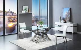 dining room great concept glass dining table. Furniture Contemporary Dining Room Amazing Crawford Modern Rectangular Glass Table How To Use Black Great Concept