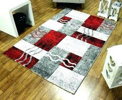 red black grey rug and rugs white
