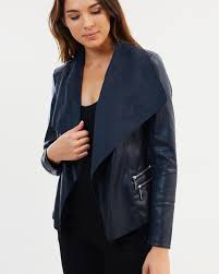 waterfall jacket by wallis the iconic australia ink outer 100 polyester
