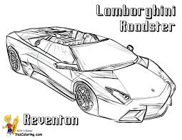Small Picture Wonderful Lamborghini Coloring Pages To Print At Aventador Inside