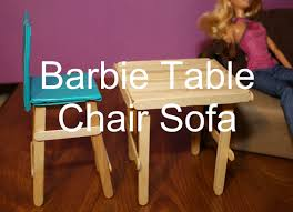 how to make barbie furniture. Super Easy Barbie Doll Furniture Craft Popsicle Sticks For Kids How To Make