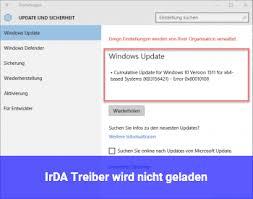 Automatische updates unter windows 10 ausschalten: Irda Treiber Wird Nicht Geladen Windows 10 Net
