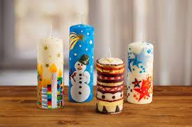 Kerzen Weihnachtlich Verzieren Familiede