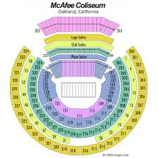 Oakland Raiders Seating Chart View Oakland Raiders Nfl Football Tickets For Sale Nfl