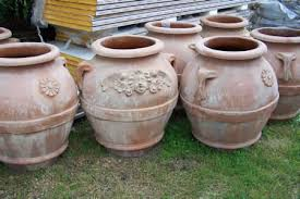 garden terra cotta urns and pots