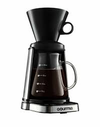 Find great deals on ebay for gourmet coffee maker. Gourmia Gcm3250 Digital Touch Pour Over Coffee Maker Automatic And Manual Mode For Sale Online