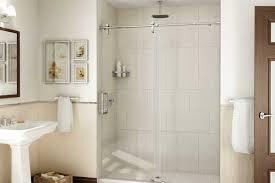 barn style frameless shower doors abc
