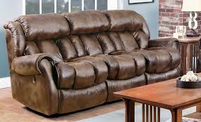 Home Stretch Furniture Espresso Chaise Recliner Sofa Grand Home