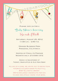 Baby Shower Invitation Wording Gifts Babyqcardinsert  Baby Display Baby Shower Wording