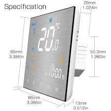 <b>WiFi Smart</b> Thermostat Programmable Temperature Controller for ...