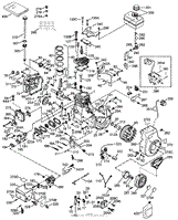 Tecumseh HSSK50-67404S Parts Diagrams