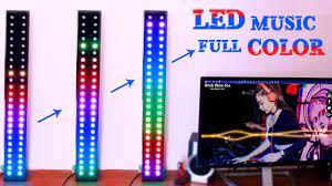Hướng Dẫn Làm LED MUSIC Nháy Theo Nhạc FULL COLOR - Đẹp Không Chê Vào Đâu  Được - YouTube