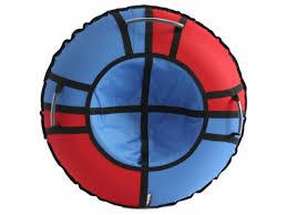Купить <b>тюбинг</b> Hubster Хайп 120 см, красный-голубой по цене от ...