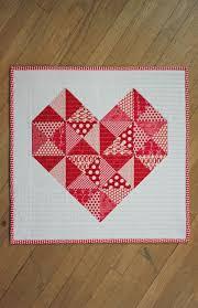 Free Mini Quilt Patterns - U Create & Quilted Heart Mini Tutorial Adamdwight.com
