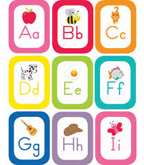 alphabet picture cards just teach alphabet cards with images printable bulletin board set