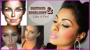 how to contour highlight diffe face shapes contouring for beginners dark tan indian skin