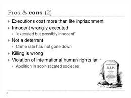 collection of solutions death penalty pros and cons essays collection of solutions death penalty pros and cons essays additional job summary