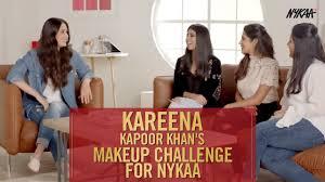 makeup challenge by kareena kapoor khan for nykaa lakme absolute