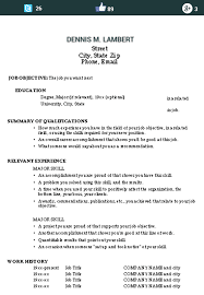 Example Skills Resume | Resume Examples And Free Resume Builder