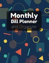 monthly bill organizer notebook monthly bill planner organizer with calendar 2018 2019 bill