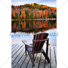 lake dock chairs. wooden dock on autumn lake chairs i