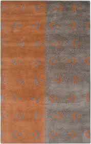 rizzy anna redmond ad 2531 rug grey orange contemporary area rugs by arearugs